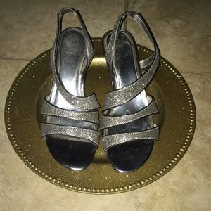 Monet Silver Heels